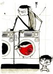 Johnny And Squee Do Laundry by Extolment