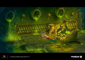 SphincterCell-donjon-Dofus by MabaProduct