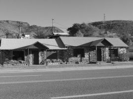 Old building in Yarnell by SquirrelWitch
