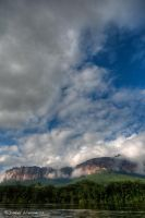Auyantepuy from the boat by dllavaneras