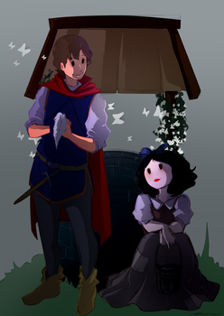 Prince Charming and Snowwhite by SkullyBones130