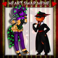 Gangster Heart Swap by Halkheart