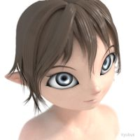 3D Ayu new by kyubus
