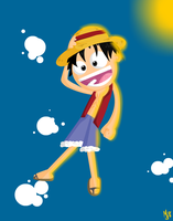 Luffy by Meatball-man