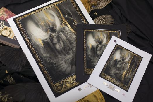 The Rise - Fine Art Giclee Prints by Yoann-Lossel