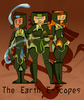 The Earth E-Scopes by Skeeterdayz