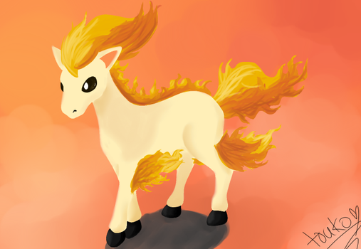 Ponyta by Whimsical-Cotton