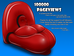 100000 pageviews by Lerra22