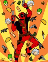 DEADPOOL YAY by moloko-plus