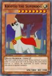 Krypto the Superdog: Yugioh Card by PereMarquette1225