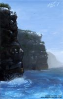 Cliff face by Tanqexe