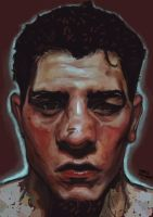 Nick Diaz study by christoefour
