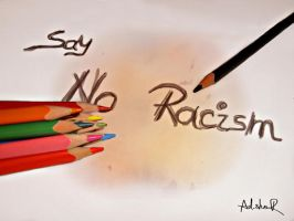 no racism by ad-shor