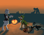 Halloween Howl: Pranking Bad by TuffMuffins