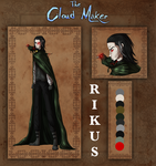 The Cloud Maker: Rikus Reference by LivingAliveCreator