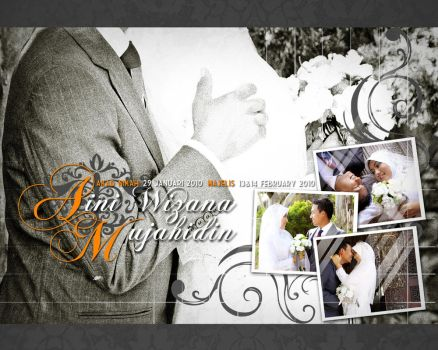 -cover wedding album- by hesty0704