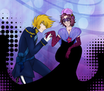 St Seiya Collab : Hand Kissing of the Gentleman by MissBelzy