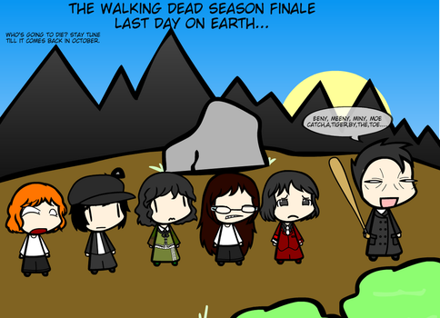 The Walking Dead: Last Day On Earth... by weasel777