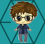 Chibi Chanyeol by Dekinut