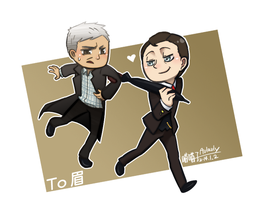 Mycroft Greg_Come with me by aulauly7