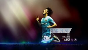 David Silva Wallpaper by ByWarf