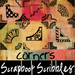 Scrapbook Scribbles- Corners by mandy71480
