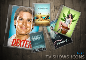TV Shows Icon Pack 1 by luigidiot