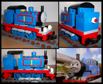 Lego Thomas the Tank Engine by Kumata