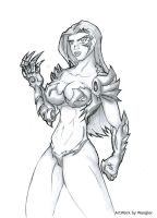 Commission Witchblade by Wangler