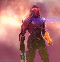 Shepard's Last Stand by aelice