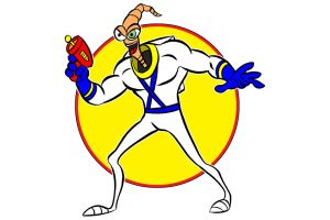 earthworm jim by AlanSchell