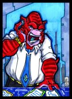 Sketch Card-A-Day 2013: 027 by lordmesa