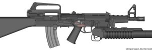 m16 bullpup by mrbodedes