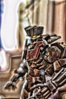 Mazinger 1901 pseudo hdr by AngeloFalconio