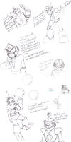 Old Mega Man Doodles (Pt. 1) by Beane-Cat
