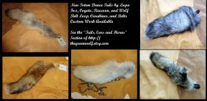 New totem dance tails for sale by lupagreenwolf