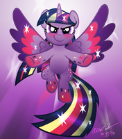 Rainbow Power Twilight by AleximusPrime