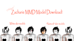 Zacharie (OFF), MMD Model Download by Shake666Productions