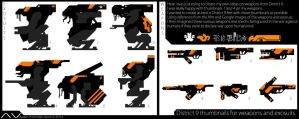 District 9 Study Thumbnails. by ViceNoctis