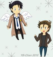 SPN:Welcome Back by Yellowbulma