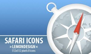Safari icons by lemondesign