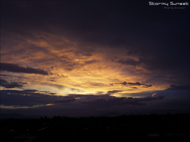 Stormy Sunset by Andre99