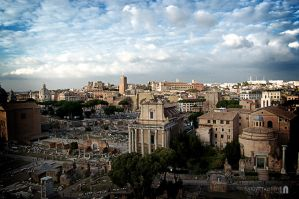 Beautiful city of Rome by ludovitNASTISIN