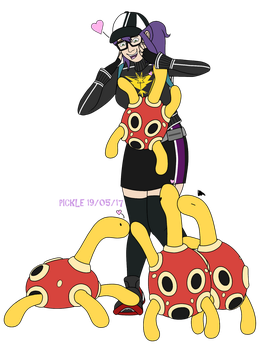proud pokemama by PicklePieCow