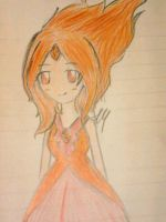 Flame Princess by tehehehehe