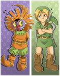 Majora's Mask: We Can Never Be Friends by Kanokawa