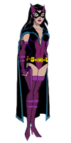 Huntress Earth2 DCAU style by Azraeuz