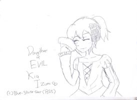 :FS: Daughter of evil by Blue-Shine-Star