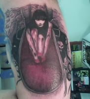 Cradle of Filth Tattoo by spiglo