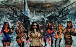 BABEWORLD#243: THE EXPANDABLES by CSuk-1T